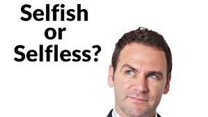 Am I selfish